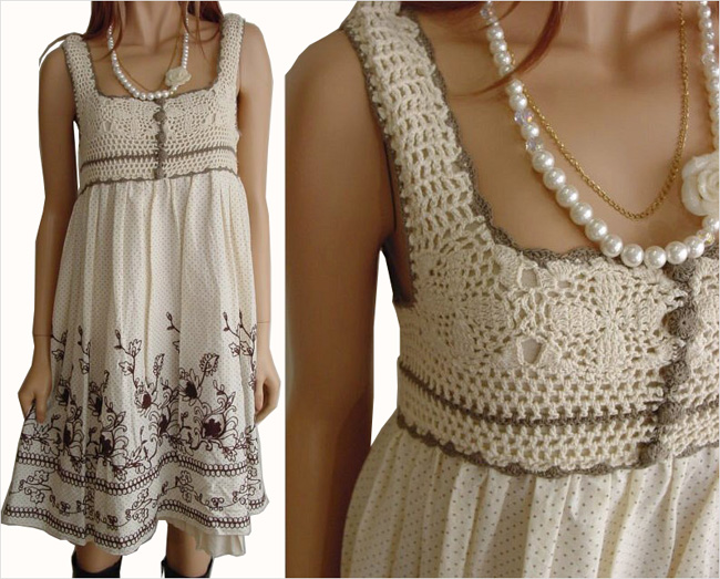 Идеи для комбинирования ткани и вязания. 57448015_1270577337_546cc9502da4