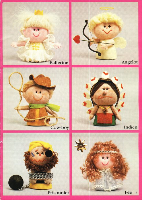 Крошечные куколки. Книга с выкройками 62118698_7