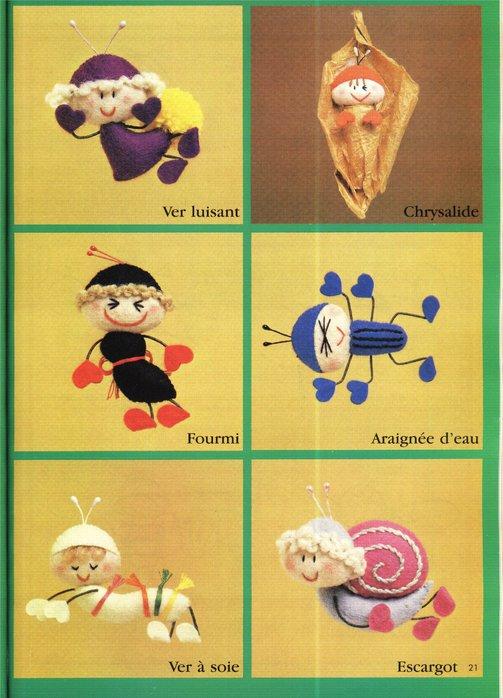 Крошечные куколки. Книга с выкройками 62120227_27