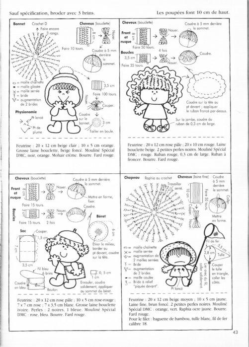 Крошечные куколки. Книга с выкройками 62122758_50