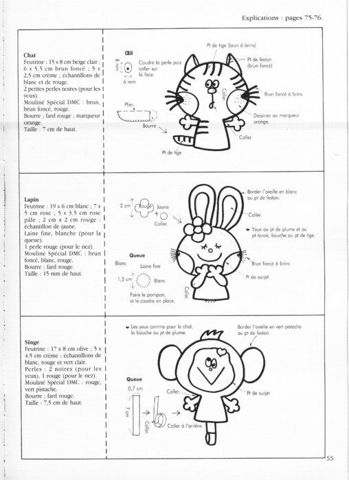 Крошечные куколки. Книга с выкройками 62124434_62