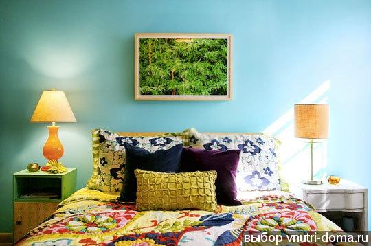 Голубой,бирюзовый,синий в декоре 62956762_01bedroom51509_rect540