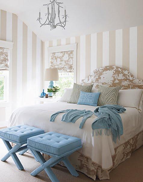 Голубой,бирюзовый,синий в декоре 63012034_blue_and_taupe_bedroom