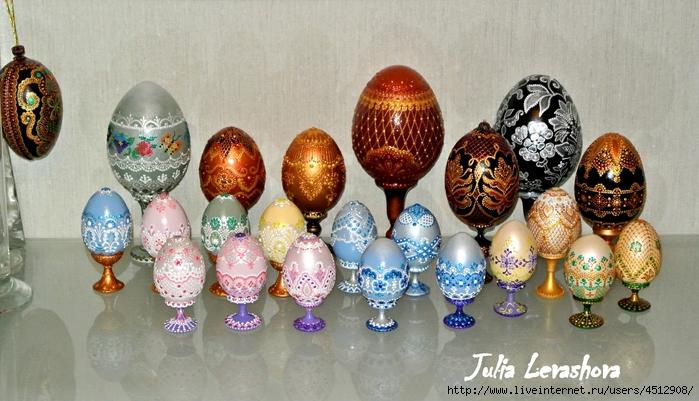 Идеи Декора яиц к Пасхе 111375177_RSR