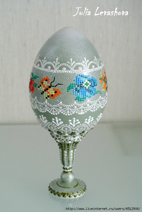 Идеи Декора яиц к Пасхе 111375651_17
