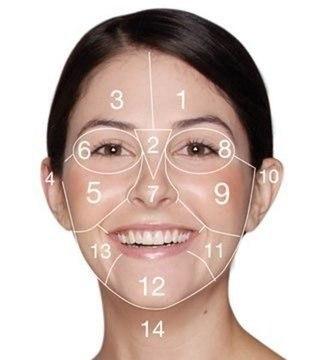 карта лица. (320x360, 17Kb)