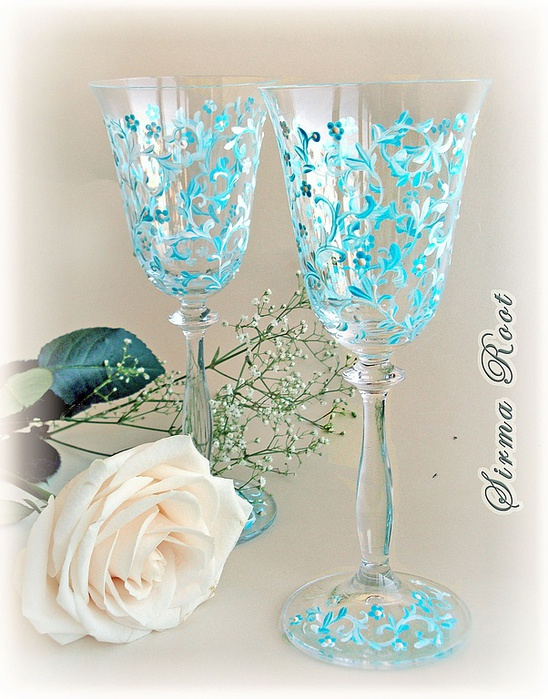Красивые бокалы к новогоднему столу 67369466_8