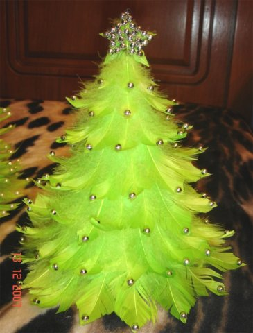 Новогодние украшения своими руками - Страница 2 68209883_elochka1
