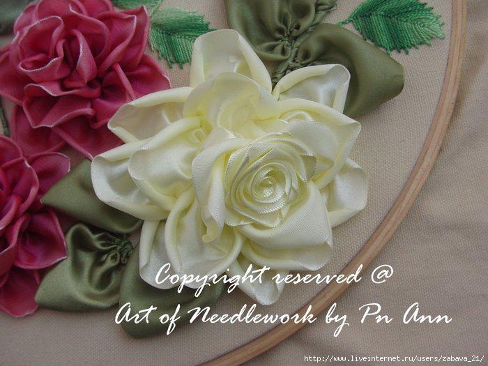 Розы из лент. МК. 70543347_Bunga_Ros5