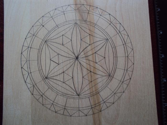 Геометрическая резьба по дереву для начинающих. Мастер-класс 75883615_DSC03530