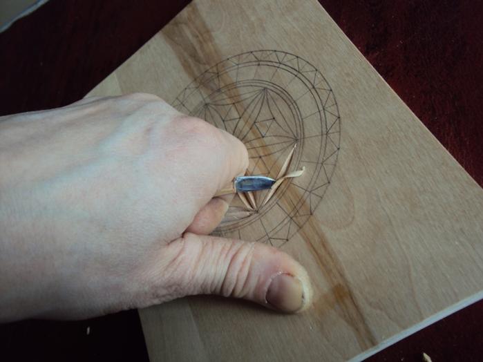 Геометрическая резьба по дереву для начинающих. Мастер-класс 75883617_DSC03536