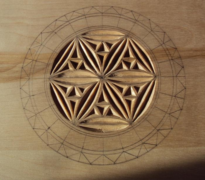 Геометрическая резьба по дереву для начинающих. Мастер-класс 75883623_DSC03547