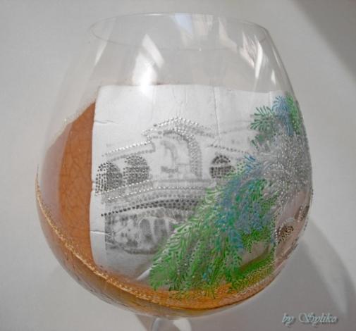 Очень интересная работа с применением яичного кракле и точечной росписи - МК 77787465_3286035_025