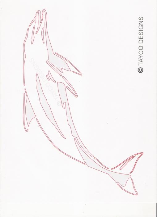 Выпиливание лобзиком. 78750513_Dolphin