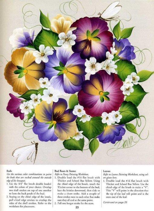 Floral Bouquets.  Цветочные букеты. 79362595_one_str__20_