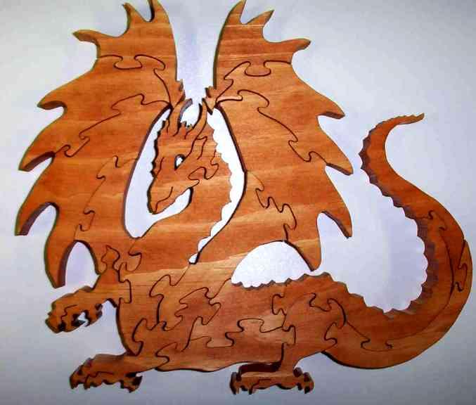 Драконы. Выпиливаем лобзиком. 79395939_2007_xmas_puzzle_dragon4