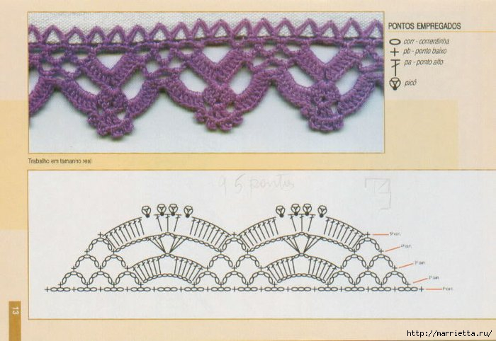 Винтажное вязание крючком. Много винтажных идей со схемами 87224481_barradinho_11