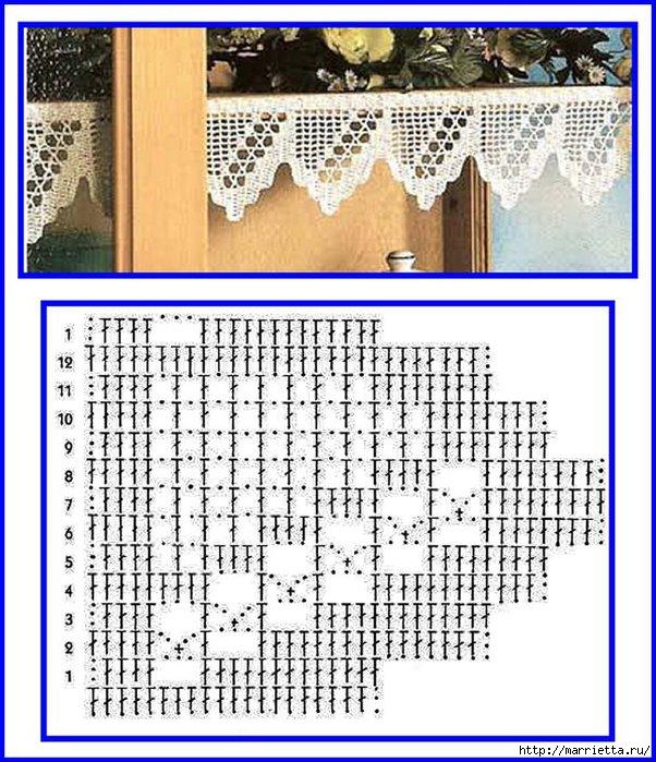 Винтажное вязание крючком. Много винтажных идей со схемами 87224487_Image157
