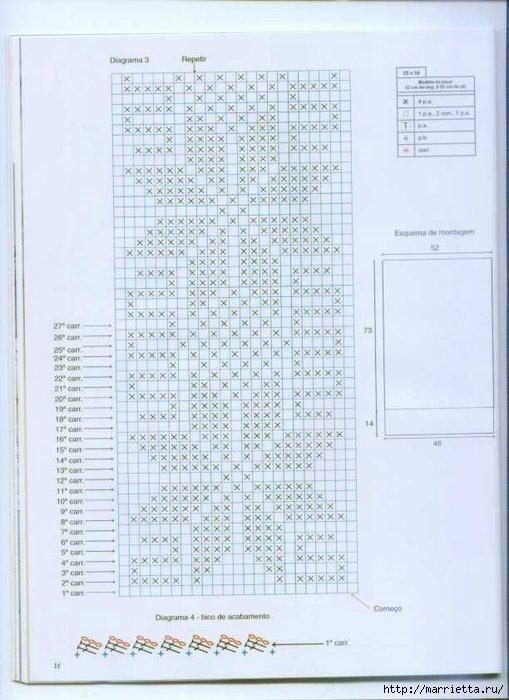 Винтажное вязание крючком. Много винтажных идей со схемами 87224581_pagina12
