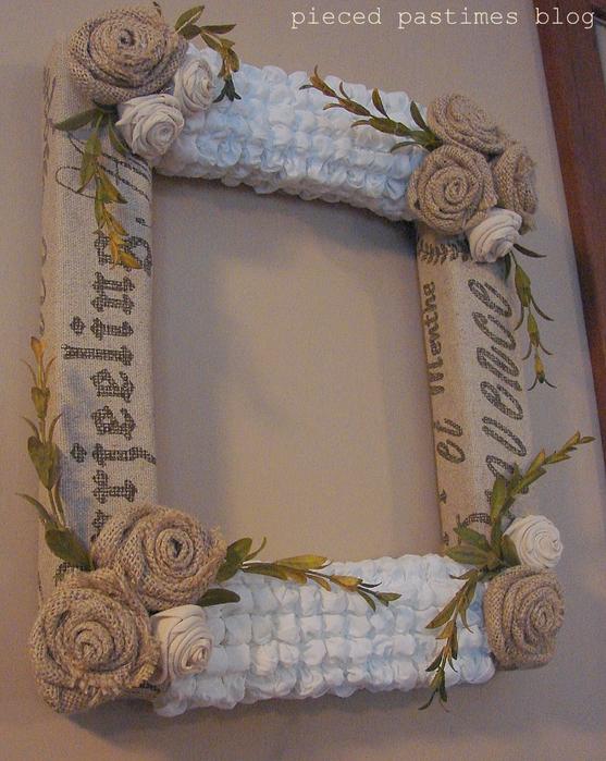 Простая мешковина. Простая?... 91944097_large_Texture_Wreath__Overall_2__1_