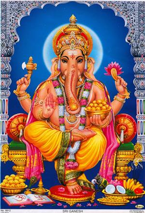 Лунные Богини и Боги 95106661_4711681_Ganesha_3