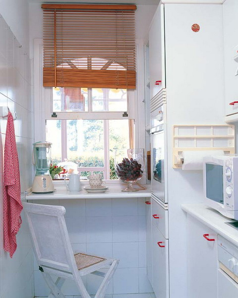 Маленькая кухня - не наказание!:) 96656285_minitableandbarforsmallkitchen33