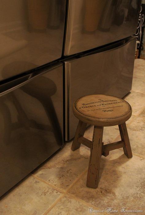 Винтажное преображение мебели при помощи распечатки на принтере 97467673_3frcrv