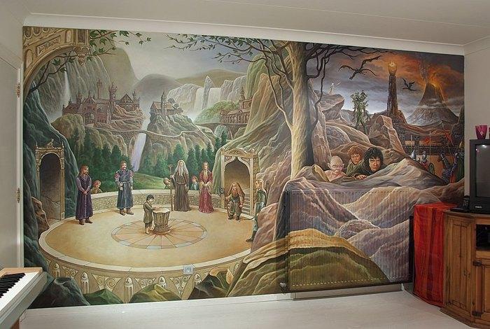 Роспись стен. Роспись-обманка от бельгийского художника VAN HOEF 97653699_4