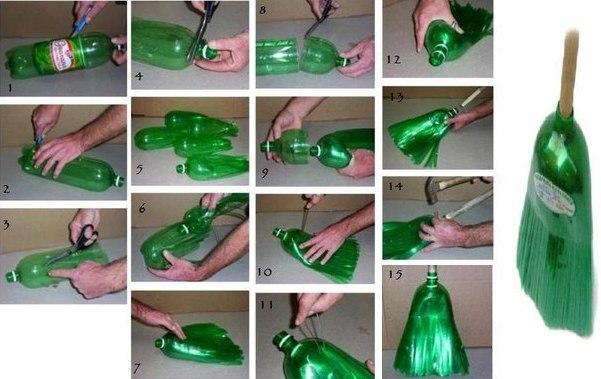 Вторая жизнь пластиковых бутылок 99384673_3518263_metla