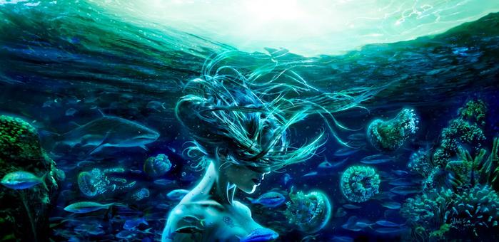 ютуб - Стихия Вода. Стихийная магия. Обряды и ритуалы. Путь Ведьмы Воды. 132429055_0qme_id6cEQ