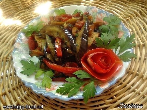 Салат из баклажанов (жареный)  - Страница 2 148861097_5
