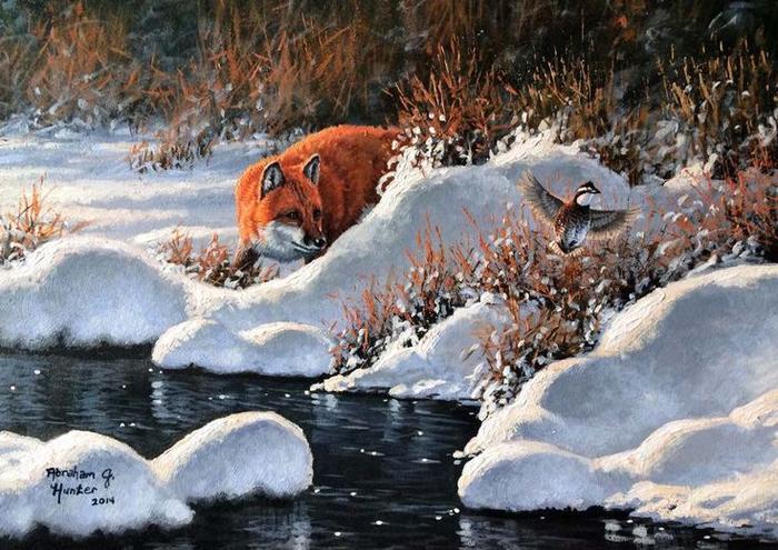 5c0ffd2fde69de833d955c9dec5cd2e8--wildlife-paintings-art-pics (700x495, 430Kb)