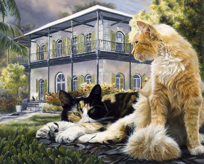 Hemingway House (700x563, 571Kb)