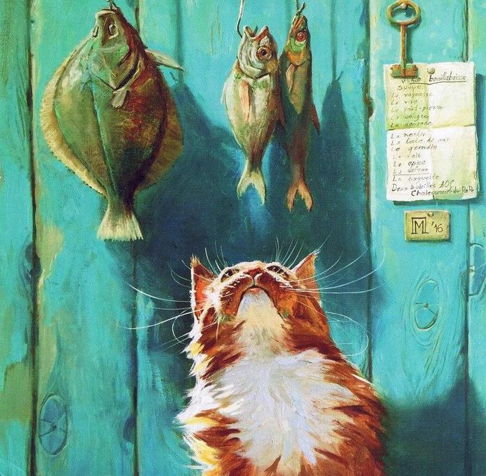 art-котэ-Мария-Павлова-artist-5895487 (700x685, 599Kb)