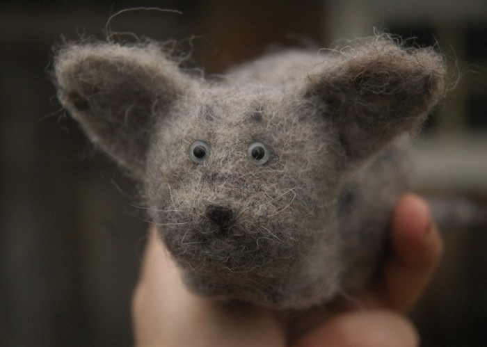Звери by Victor Dubrovsky 1586681_dubrovsky_felted_animal11