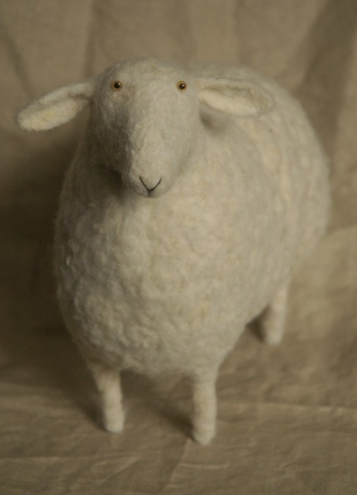 Звери by Victor Dubrovsky 1586691_vic_dubrovsky_sheep_felt1