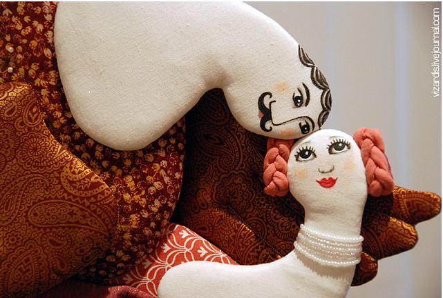Текстильные куклы Татьяны Овчинниковой 3363855_snimok