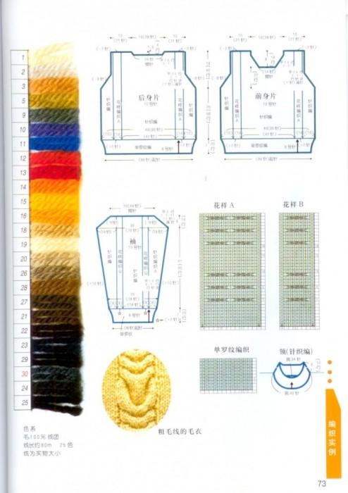 Как читать схемы в японских журналах 2211501_p73