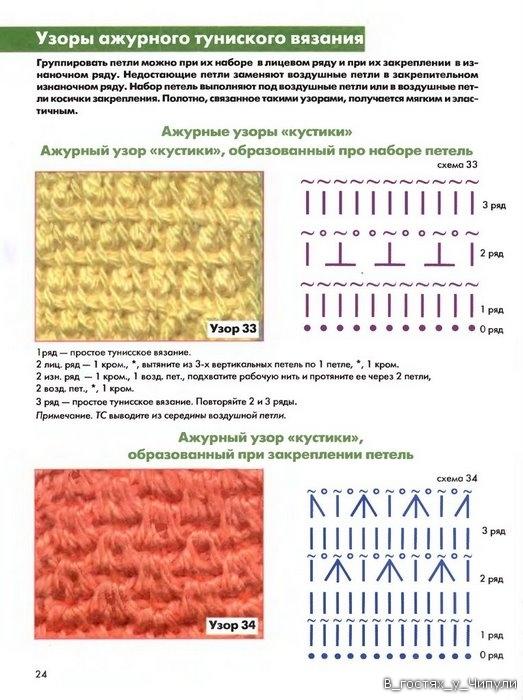 Книга: Тунисское вязание. Техника, узоры, модели. Т.П. Абизяева. 2832377_aa_0023