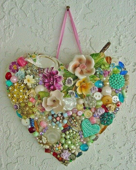 Jewelled Heart 2940129_3174650777_1ace64628a_b
