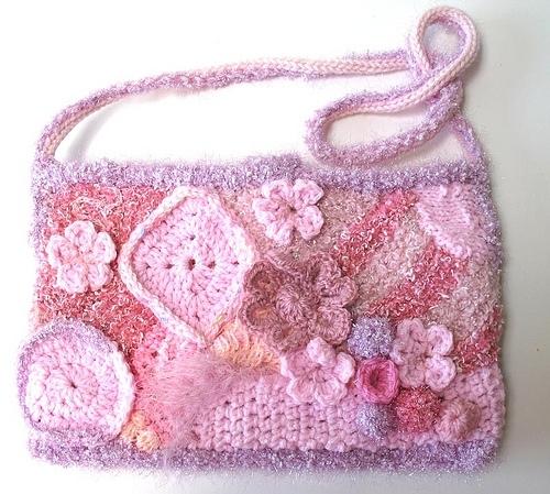 Вязаная прелесть! Розовый фриформ 3029885_3152357083_711191bff4