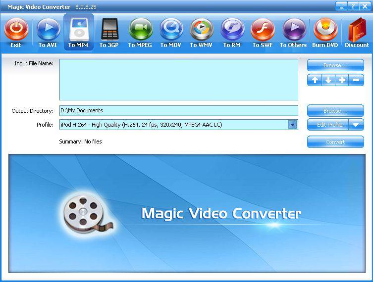 محول للفديو اكثر من رائع Magic Video Converter8.0.8.25 2009331cdc4d175b34fd21ac2e6ad3eff9f143c
