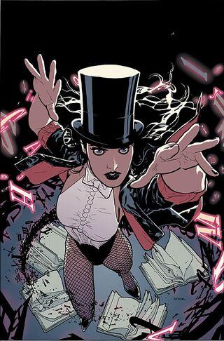 Tournoi des Personnages Préférés DC Comics (on vote pour nos persos préférés, on ne se base pas sur la force) - Page 5 320px-Zatanna_005