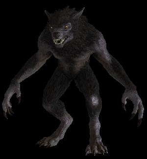Skinwalker encounter on the Navajo Reservation Werewolf_from_Skyrim