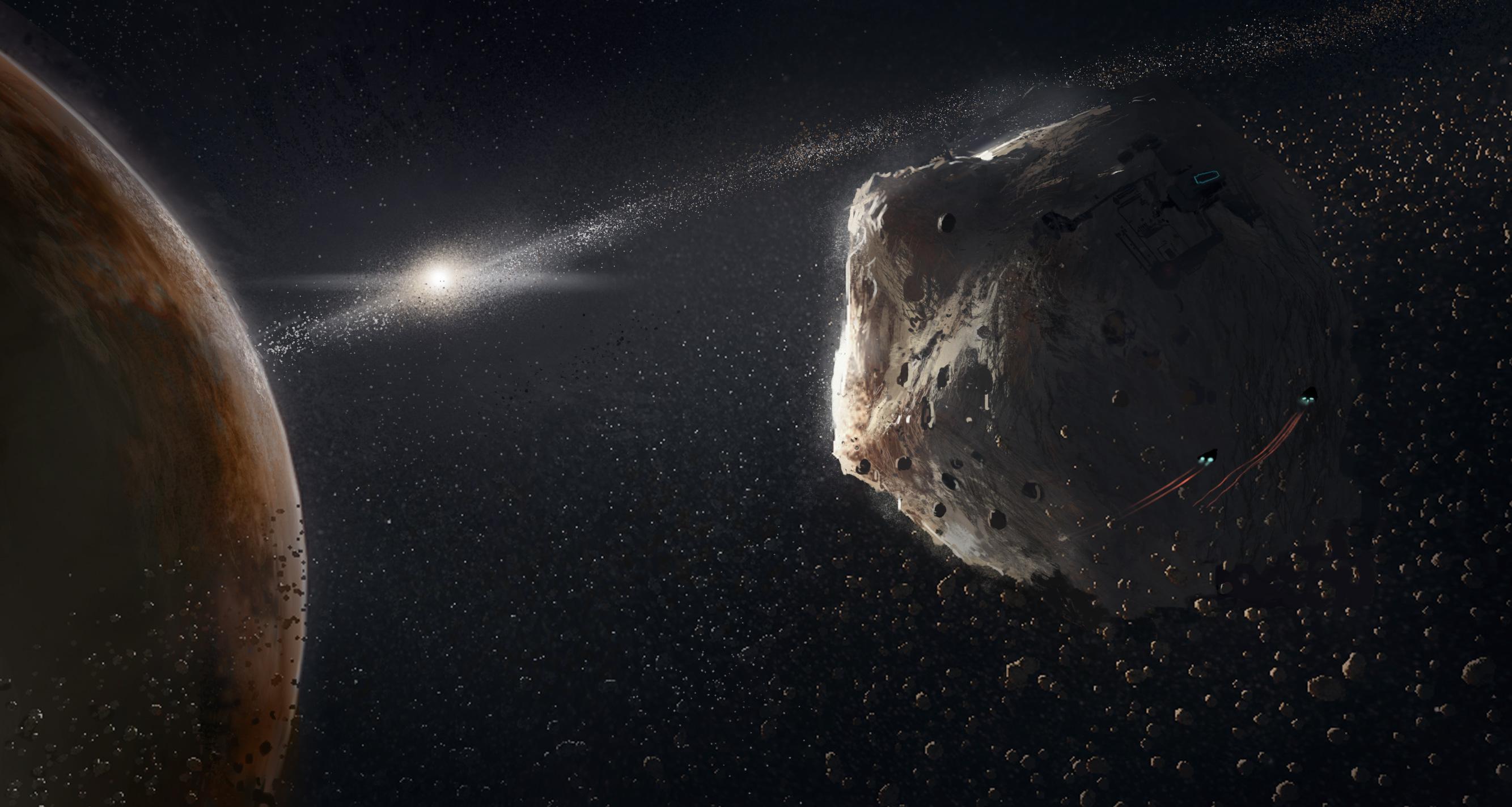 Elite: Dangerous - Informant Asteroid_field