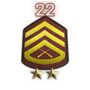 Rank 22