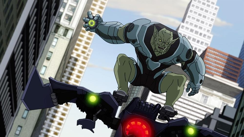 Disney se ha cargado marvel Ultimate-spider-man-Goblin01