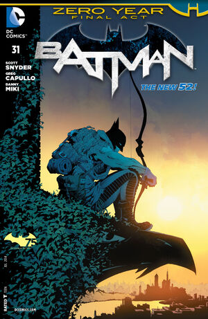 51 - [DC Comics] Batman: discusión general 300px-Batman_Vol_2_31