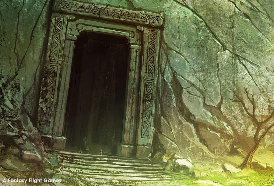 Khazad-Dûm : la Porte de l'Est The_eastgate_by_cristi_b-d543het