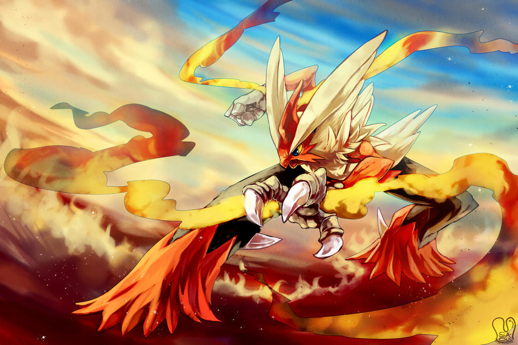 Méga Braségali The Hot Chicken  Pokemon___mega_blaziken_by_sa_dui-d6ki5fo